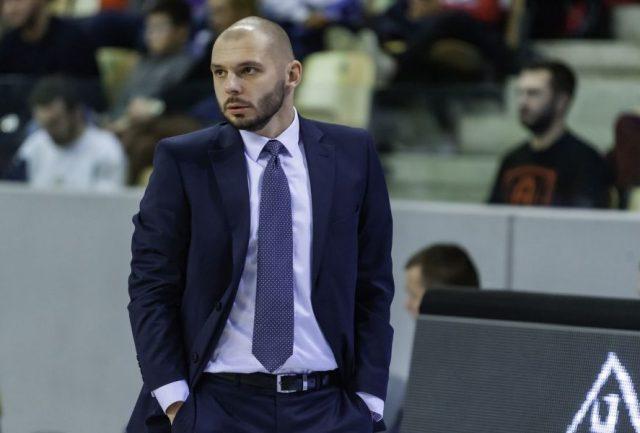 Trener Artur Gronek / fot. Ryszard Wszołek, Enea Astoria Bydgoszcz