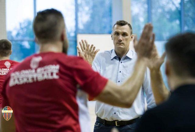Mariusz Bacik / fot. Fot. BS Polonia Bytom Basketball, materiały prasowe.