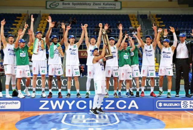 Zwycięski Stelmet Enea BC Zielona Góra / fot. A. Romański, plk.pl