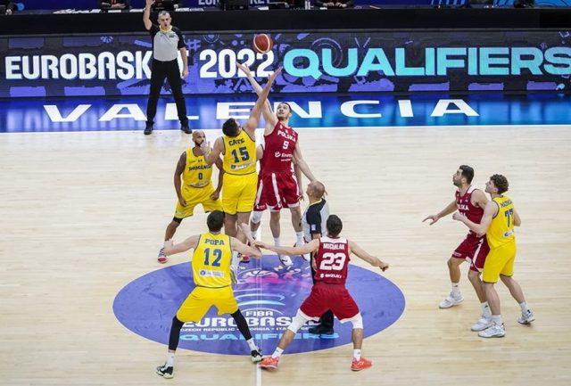 Jeden z meczów Polska vs. Rumunia / fot. FIBA Europe