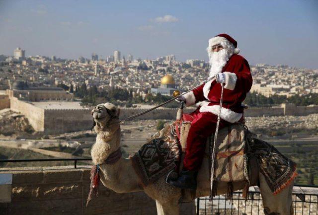 Issa Kassissieh / fot. Jerusalem Santa, Facebook